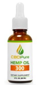 CBDPure Hemp Oil 300Mg