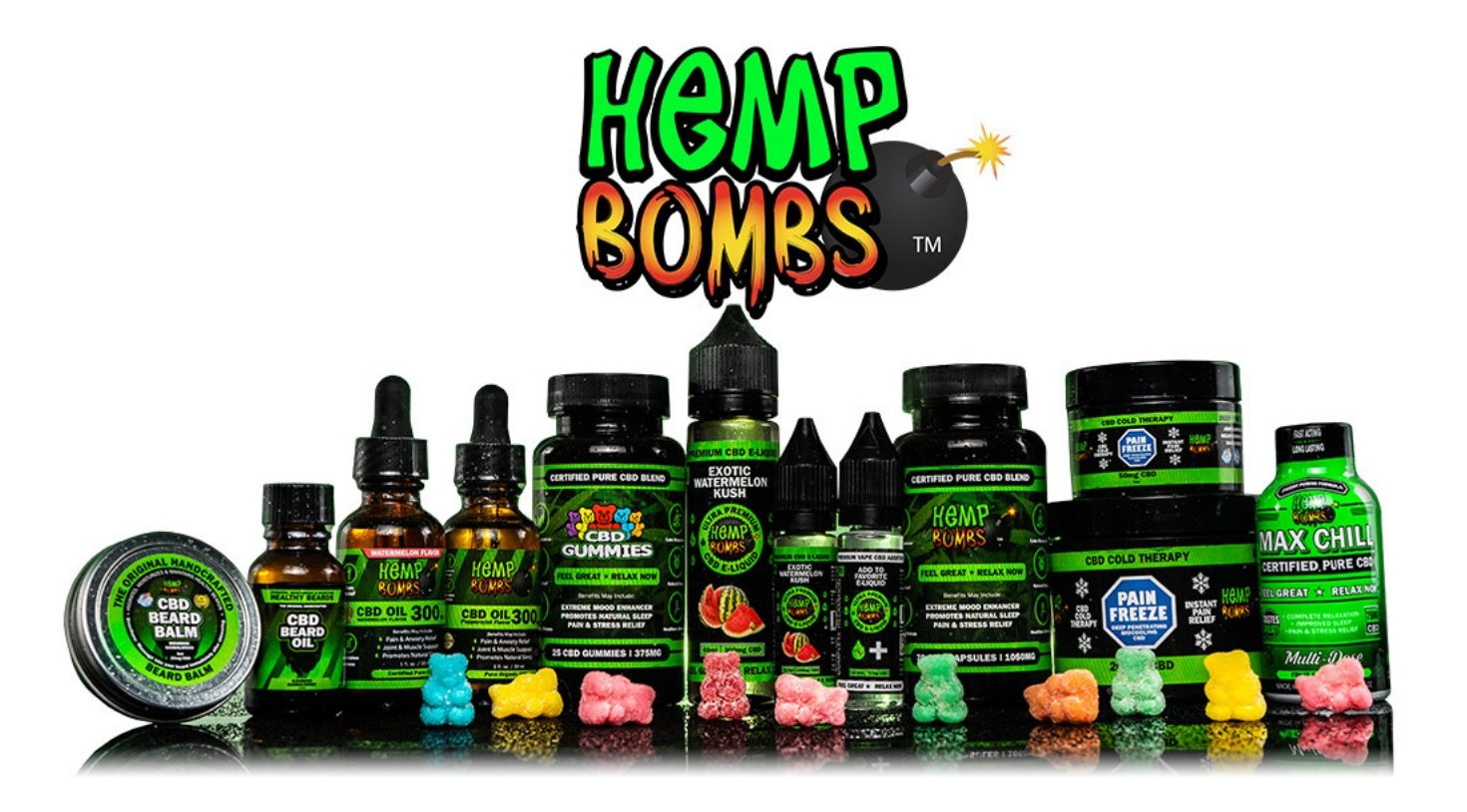 Hemp Bombs All Products